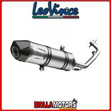 8488E SCARICO COMPLETO LEOVINCE GILERA NEXUS 500 2010- LV ONE EVO INOX/CARBONIO
