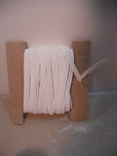 "Millinery Paper Straw for Doll Hats 10 Yds WHITE 1/4"" Wide Bleuette Ginny"