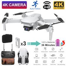 Mini Faltbar WIFI FPV RC Drone Drohne mit 4K 1080P HD Kamera Selfie Quadrocopter