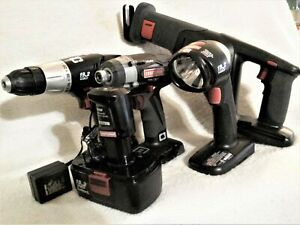 Craftsman 19.2V Cordless Power Tool 6 Pc Combo Kit Includes 3 Speed Impact Wrenc