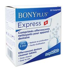 Express Denture Cleanser ~ 32 Tablets ~ Formerly Professional Denture Cleaner