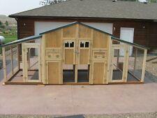 Chicken coop framing plan & material list, The Chick-Inn Model