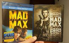 4 BLU RAY MAD MAX TRILOGY STEELBOOK + MAD MAX FURY ROAD SIGILLATO