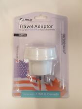 SanSai Electrical Travel Adaptor Australian Plug to Use in USA Canada Earthed