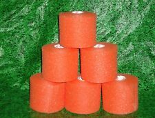 Pre Wrap Orange 6 Rolls Soccer Volleyball