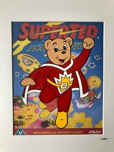 Super Ted - Hand Drawn & Hand Painted Cel