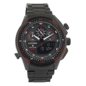 Citizen JW0137-51E Men's Promaster SST World Time Chronograph Eco-Drive Watch