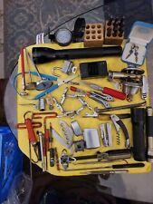Junk Drawer Lot Flashlights Knives Bottle Opener Locks Other