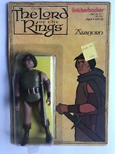 Vintage RARE Lord of the Rings Aragorn Toy Action Figure Knickerbocker LOTR