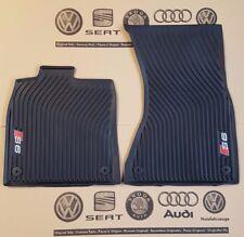 Audi A6 4G original S6 Fußmatten Gummimatten vorne Gummifußmatten C7 rubber mats
