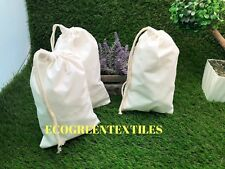 4X6 inches Original thick Cotton Muslin Bags *Nice Quality* Choose Quantities