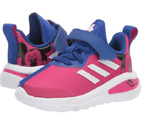 ADIDAS H68842 FortaRun Mickey I Inf`s (M) Magenta/White/Blue Textile Casual Shoe