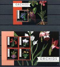 Guyana 2012 Orchideen Orchids Blumen Flowers Plants 8303-6 Block 853 MNH