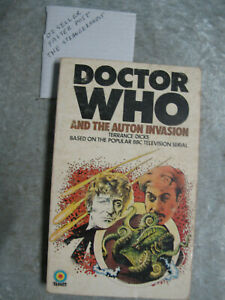 Doctor Who And The Auton Invasion - Terrance Dicks OzSellerFasterPost