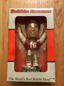 "Joe Montana San Francisco 49ers ""Touchdown"" Bobble Dreams Limited Bobblehead"