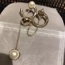 Dior Pearl Dangle Long Earrings RARE