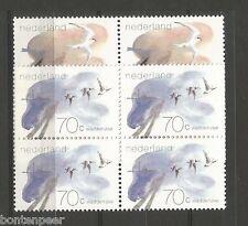 NVPH 1268-69 POSTFRIS IN BLOKKEN VAN 4 WADDENGEBIED 1982 CAT.WRD. 5,60 EURO