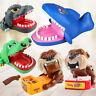 Kids Cute Dog/Shark/Crocodile/Dinosaur Mouth Dentist Bite Finger Game Funny Toys