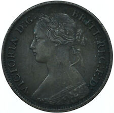 More details for 1865 farthing gb uk queen victoria very nice collectible coin  #wt27957