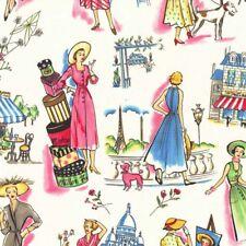 Michael Miller Springtime in Paris Fabric