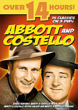 Abbott and Costello Brand New Sealed DVD 13 Episodes on 3 DVDs