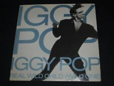 1986 Iggy Pop Real Wild Child ( Wild One ) / Little Miss Emperor Picture Sleeve