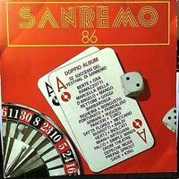SANREMO ' 86 (Doppio Album) - 2LP/VINILOS - ITALIA - 1986 (EX/NM -MB/VG)