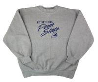 Vintage Penn State Nittany Lions Fleece Houndstooth Crew Neck Sweatshirt, Sz XL