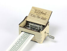 Tangled - I See The Light / Hand Crank Paper Strip Wooden Music Box