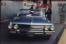 Rare Ektachrome De Presse Original 1961 BUICK Cabriolet !!!