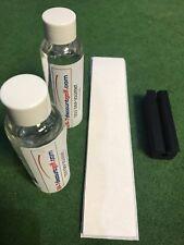 Pro Re-Grip Kit - 14 Golf Clubs - Premium Tape - Solvent 8 oz-rubber vice clamp