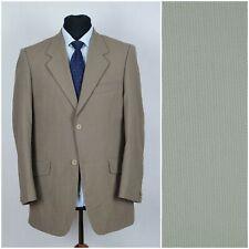Men Light Brown Vintage Wool Ivy League Sports Jacket Blazer BLUES L Large UK 42