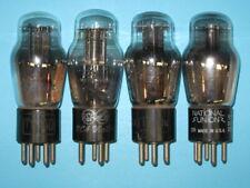 Type 27 - TV AUDIO GUITAR AMPLIFIER HAM RADIO tube -- lot of 4