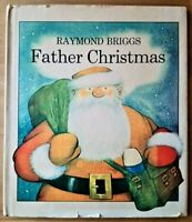 FIRST EDITION FATHER CHRISTMAS 1ST / 3RD PRINT 1974 RAYMOND BRIGGS (THE SNOWMAN)
