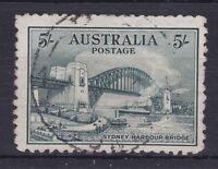 APD158) Australia 1932 Sydney Harbour Bridge 5/- Green, SG 143