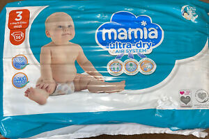 Mamia Ultra Dry Size 3 Midi 4-9kg 56 NAPPIES