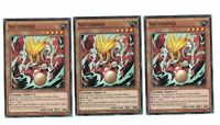 3x Shutendoji bp03-en069, Common, Mint, Anglais, 1st, PLAYSET