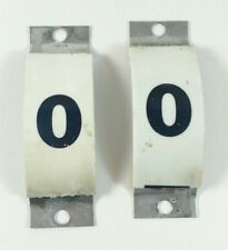 Vintage Pinball Machine static screw in place score number 0