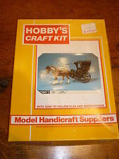 A Hobby craft kit of a HANSON CAB. Design 1527, un made, boxed, scale 1/20