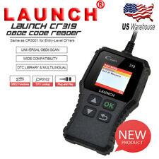 OBD2 Automotive Diagnostic Scanner Car Fault Code Reader Engine Light Check MIL