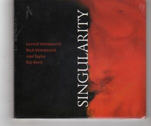 (HQ778) Singularity, Vintskevich Quartet - 2009 Sealed CD