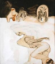 Funk Artist, Mod Imagery Surrealism, Jerrold Ballaine Roller Skating in Nude,