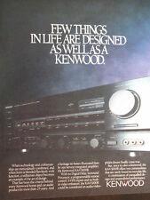 1989 Kenwood KA-V1000R Amplifier Advertisement