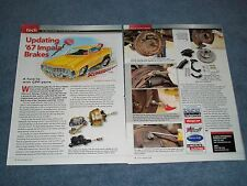 1967 Impala CPP Disk Brake Install How To Tech Info Article