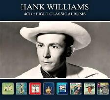 HANK WILLIAMS - 8 CLASSIC ALBUMS  (NEW SEALED 4CD) EIGHT