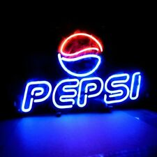 """New Pepsi Cola Beer Pub Bar Neon Sign 17""""X14"""" PU23S Ship From USA"""