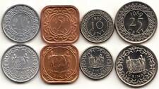 Suriname 1, 5, 10, 25 Cents