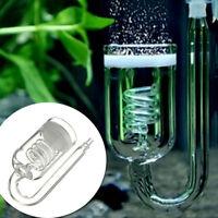 CO2 Diffusor Aquarium Rückschlagventil Diffuser Glasrohr für-Pflanze3.5*8.5cm
