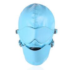 New Hood/Mask Removable Eye mask,Internal Ball Gag for Fancy Dress 3001