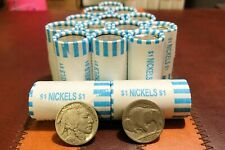 (20) Half Roll of Rare Buffalo Nickels Old Us - Bank Sealed Unopened